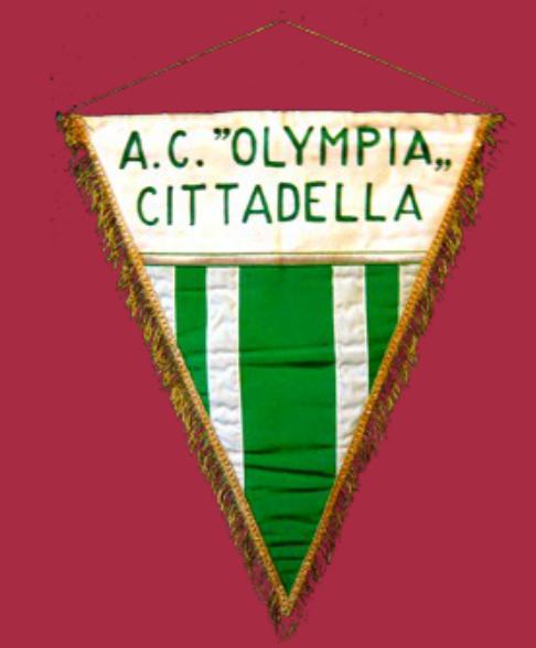 Il gagliardetto storico dell' A.C. Olympia Cittadella