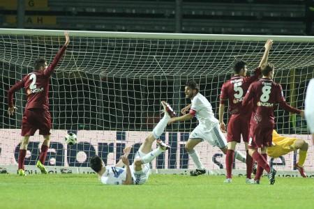 Il gol befferdo di Zambelli che punisce il Citta.
