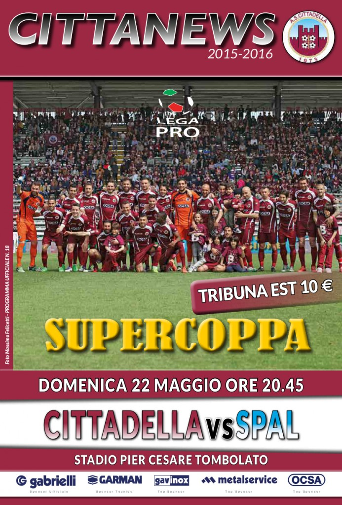 18 SUPERCOPPA