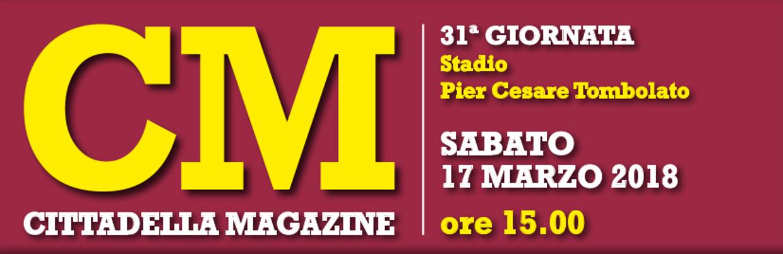 CittaMagazine 31ª giornata